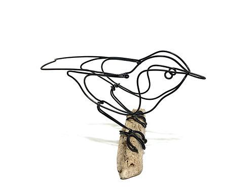 Little Bird Wire Sculpture