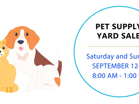Rummage Sale / People & Pets Together