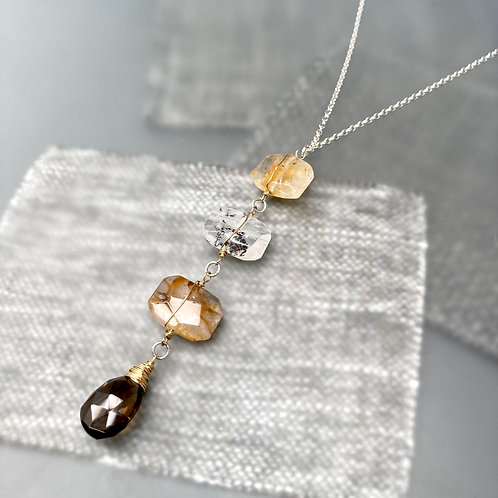 Four Story Necklace