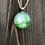 Thumbnail: Dandelions Alcohol Ink Pendant Necklace