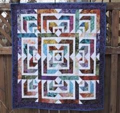 Jewel Tone Quilt
