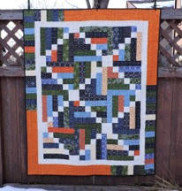 X's and Strips Quilt