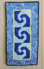 Small Blue Quilt