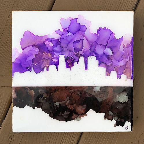 Purple & Black Minneapolis