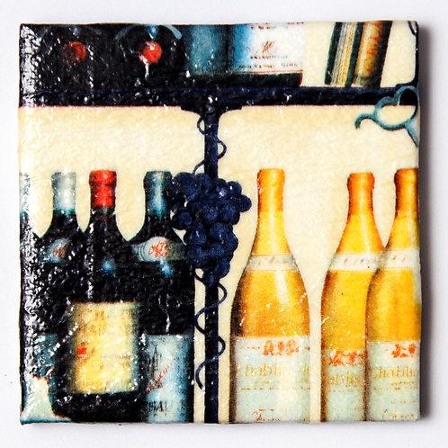 Wine Bottles:  Set of 4