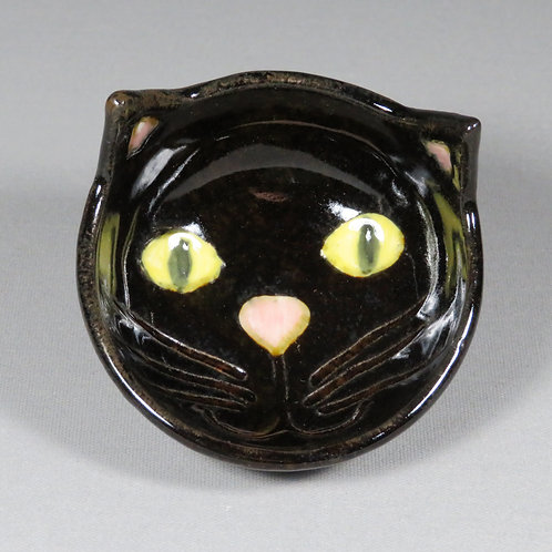 Small Black Cat Bowl