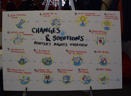 Recap of the Minneapolis Renters Coalition Open House: An event hosted to bring issues of Powderhorn