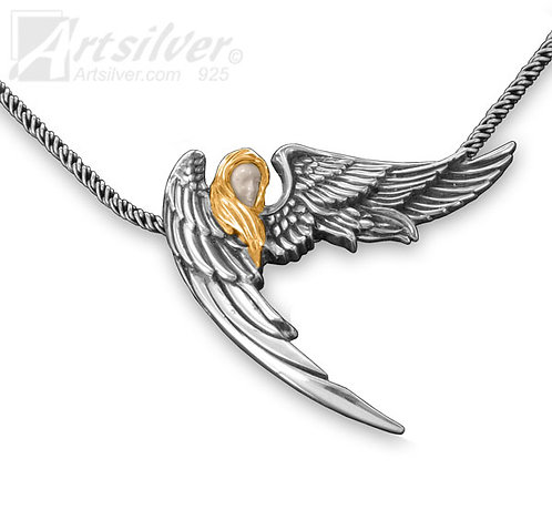 Guardian Angel Pendant Style KS116