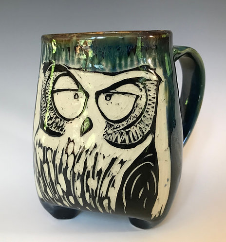 Owl Tripot Mug