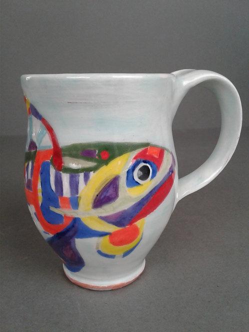 Aqua Rainbow Trout Cup