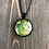 Thumbnail: Butterfly Alcohol Ink Pendant Necklace