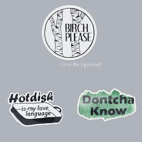 Sticker Pack 4