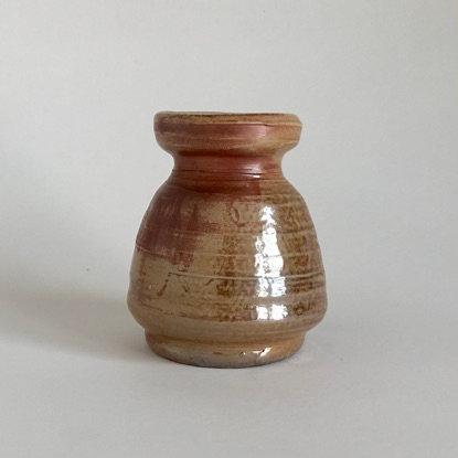 Orange Bud Vase
