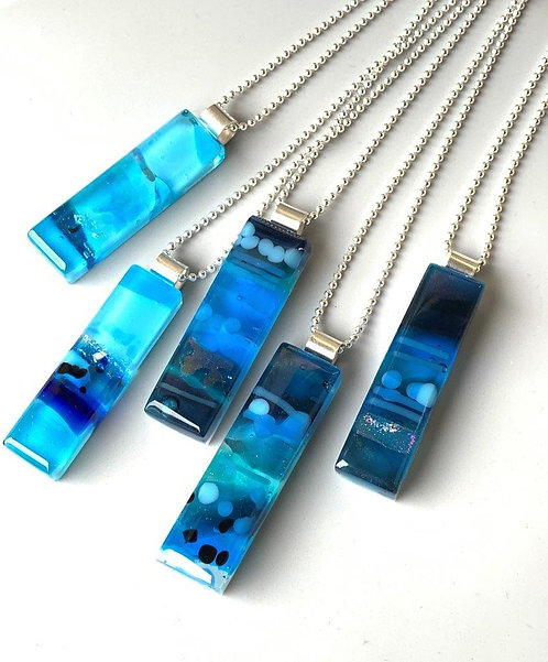Glass Impressions Necklace