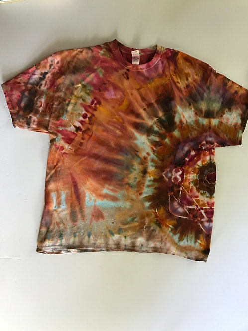 2XL Tee with Side Mandala