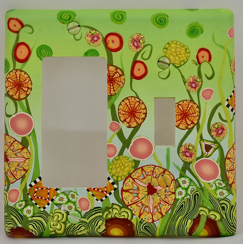 Summer Garden Double Combo Plate