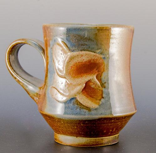 Orange Flower Petal Coffee Mug
