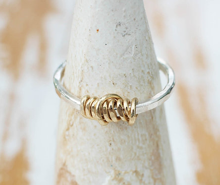 Spun Gold Ring