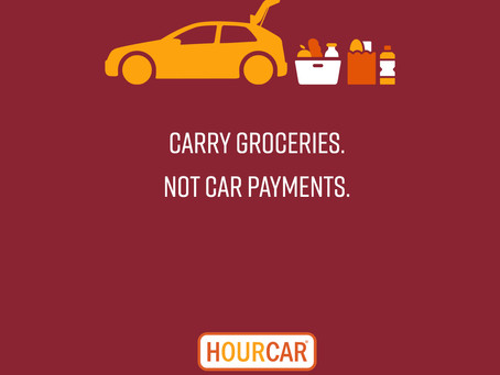 HOURCAR: A car when you need one, not when you don't.