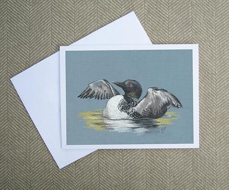 Greeting Card, Loon