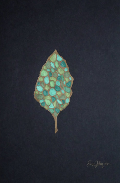 Lone Golden Leaf