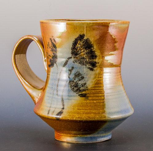 Painted Flower Coffee Mug