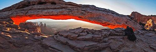 Sunrise Through Mesa Arch