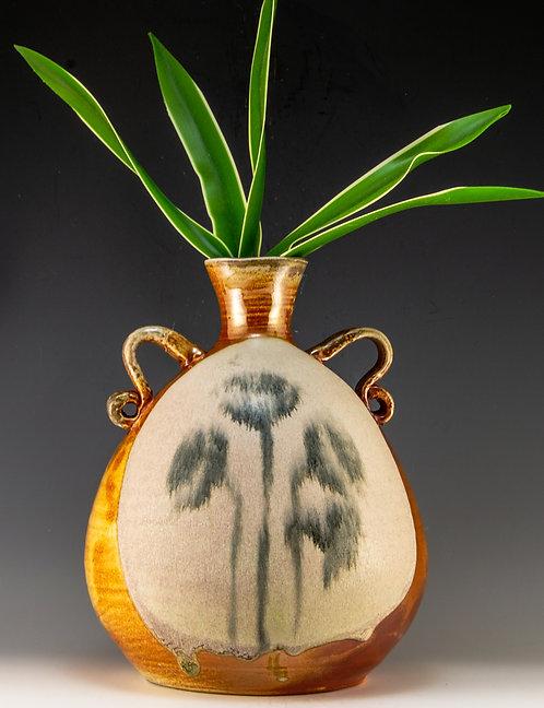 Faded Flowers Vase