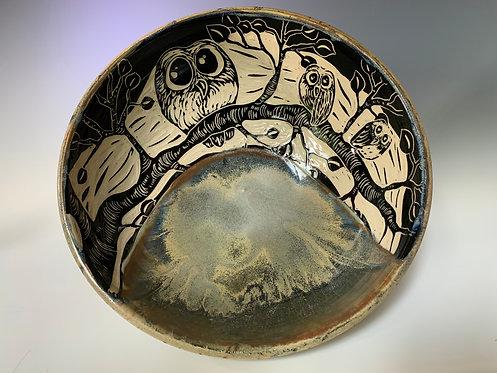 Large Owl Bowl