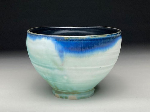 Bright Blue Green Bowl