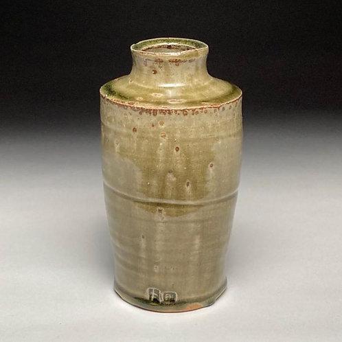 Ash Green Bottle Vase
