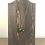Thumbnail: Green, Gold Alcohol Ink Wood Circle Pendant Necklace