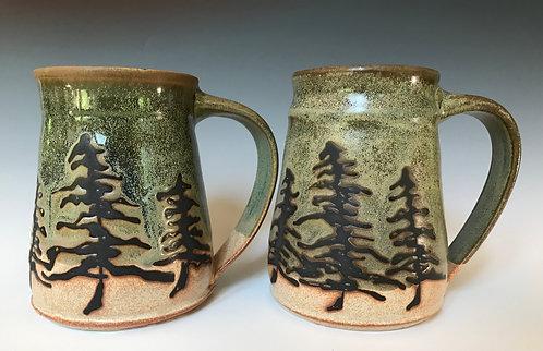 Tree Mugs Set