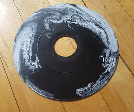 Black and White Negative Space Vinyl