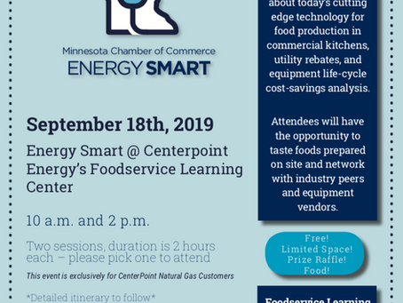 Energy Smart @ Centerpoint Energy's Foodservice Learning Center