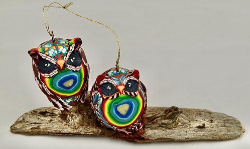 Proud Owls Sculpture