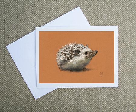 Greeting Card, Hedgehog