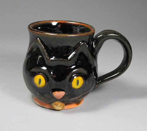 Black Kitten Mug