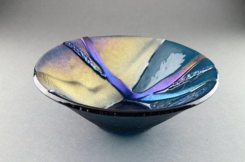Glass Cone Bowl