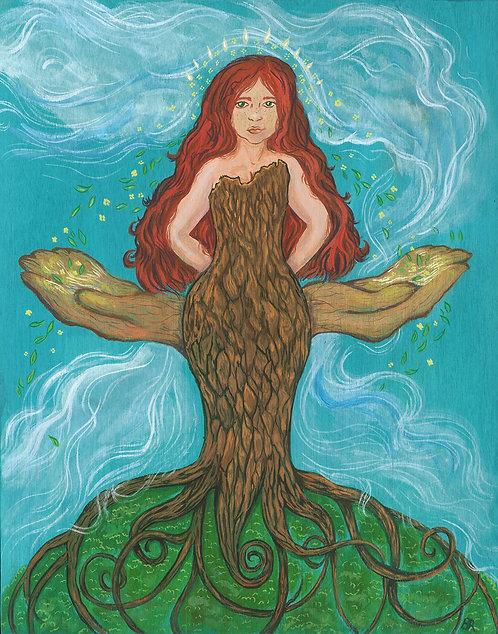 Danu ~ Mother of All  (Original Painting)