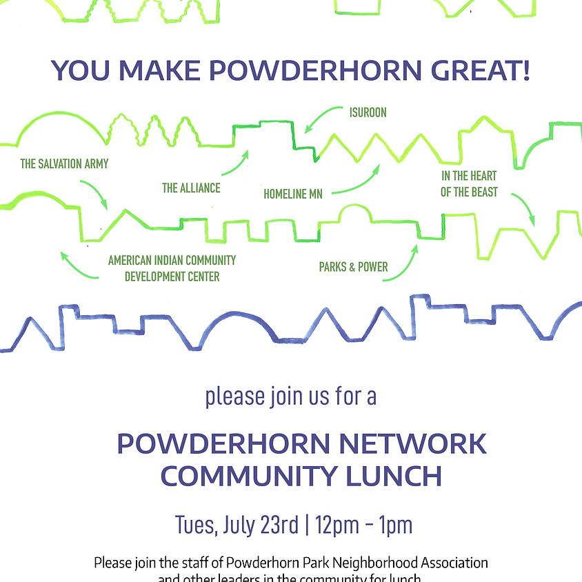 Powderhorn Network Community Lunch
