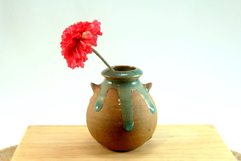 "Drip Bud Vase with ""Arms"""