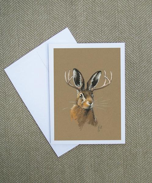 Jackalope Card