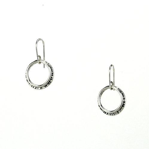 Moonlight Earrings - Silver