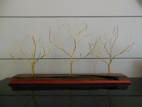 Brass Wire Trees