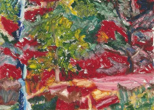Trees, Lake Harriet Red