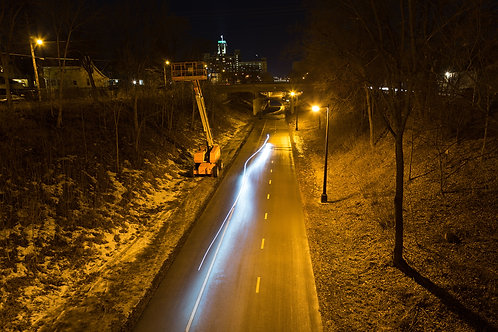 Midtown Greenway at Night