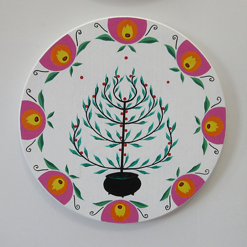 Tree of Life Hex Sign