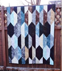 Black and Blue Quilt