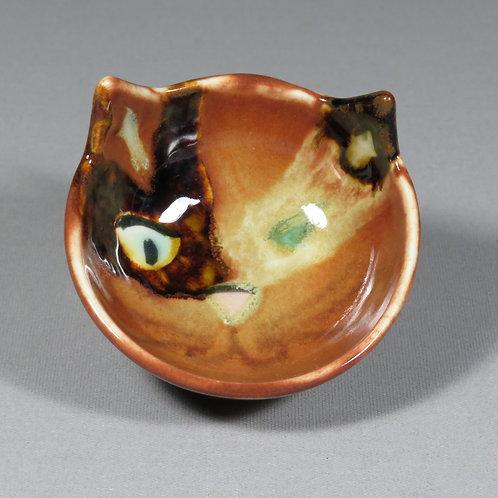 Small Calico Cat Bowl
